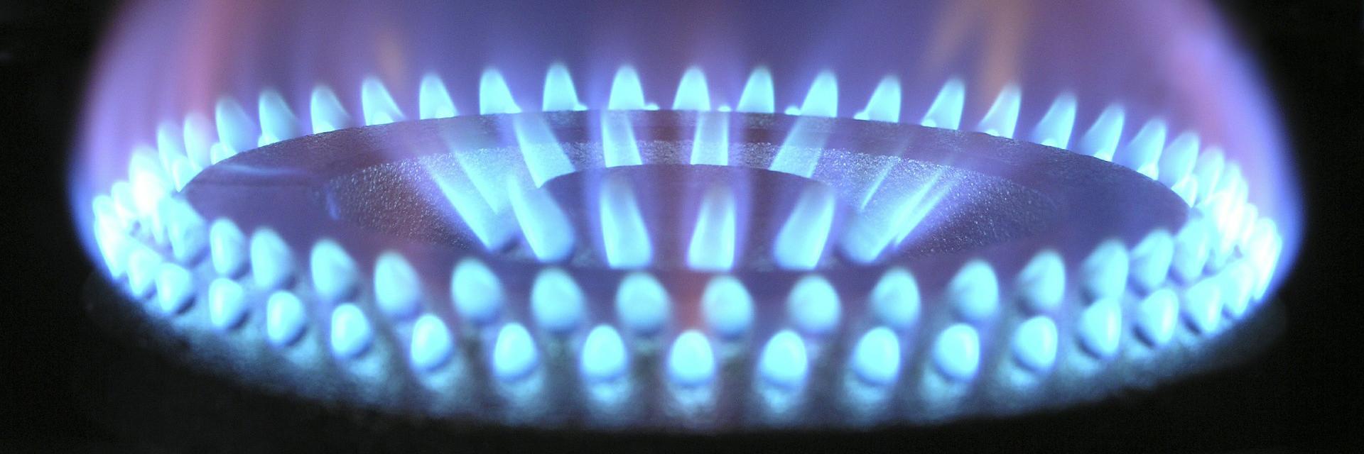 instalacje gazowe – zdjęcie palnika gazowego