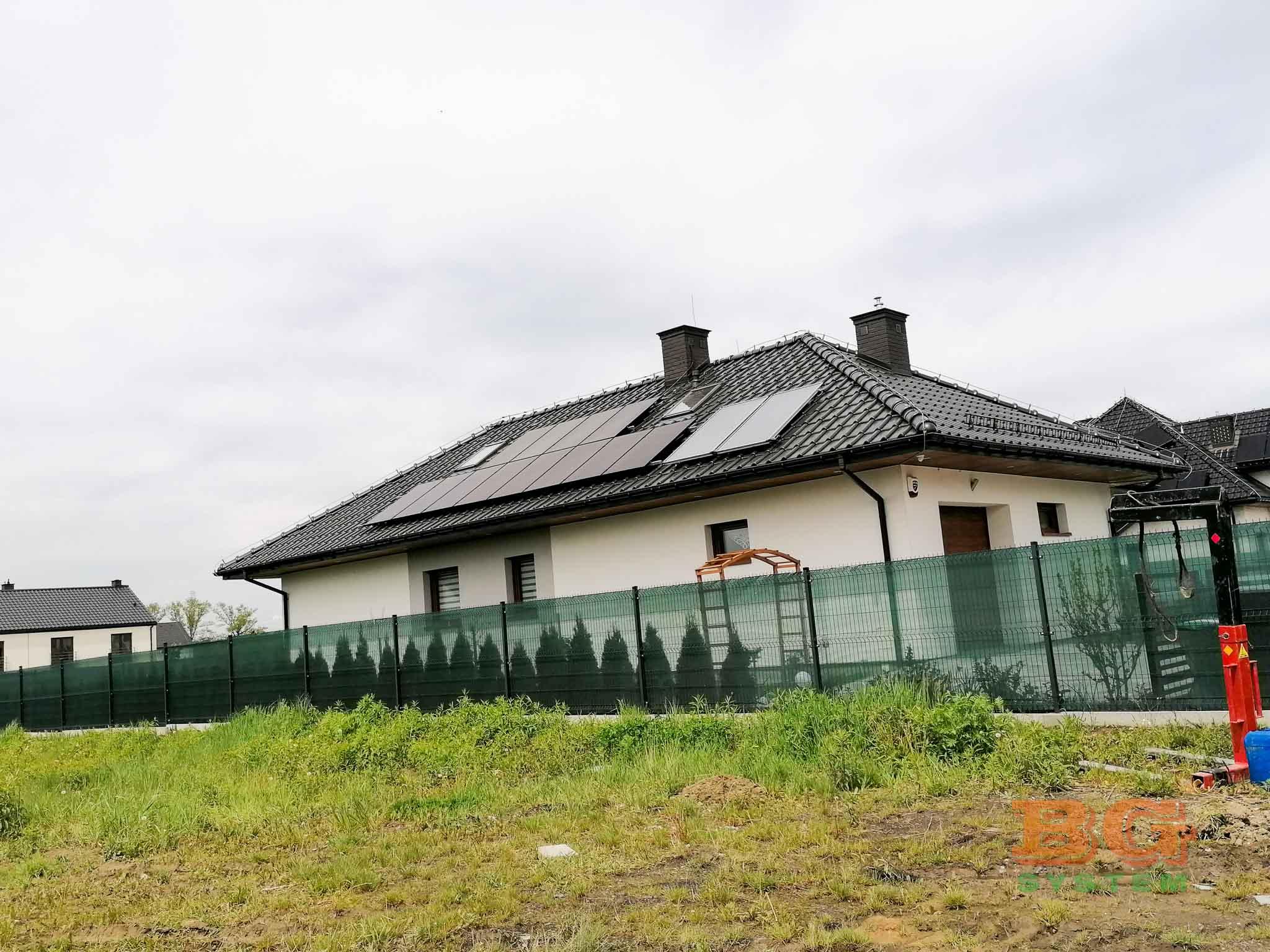 Zdjęcia z inwestycji w ramach PONE przy ulicy Strzelca w Zabrzu, wykonawca – BG System